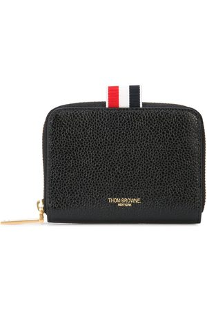 Thom Browne Pebbled Slim Short Purse