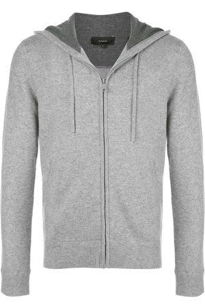 Vince Zip-up drawstring hoodie - Grey