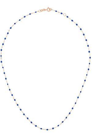 GIGI CLOZEAU 18kt rose gold beaded necklace