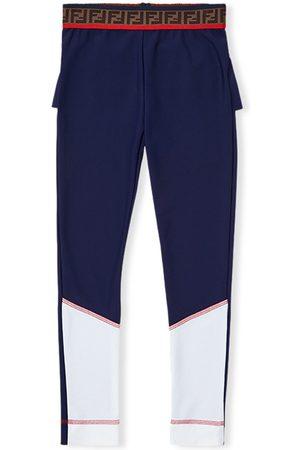 Fendi Frills detail leggings
