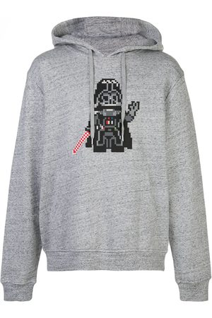 MOSTLY HEARD RARELY SEEN Invader jersey hoodie - Grey
