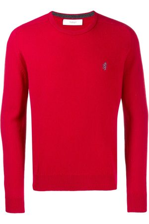 PRINGLE OF SCOTLAND Embroidered logo sweater