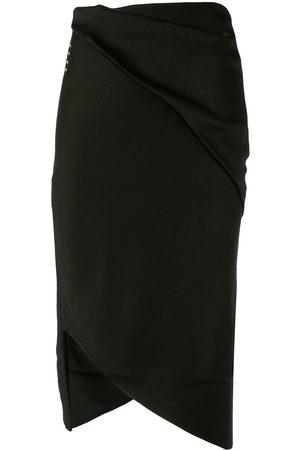 Comme Moi Women Asymmetrical Skirts - Asymmetric hem skirt