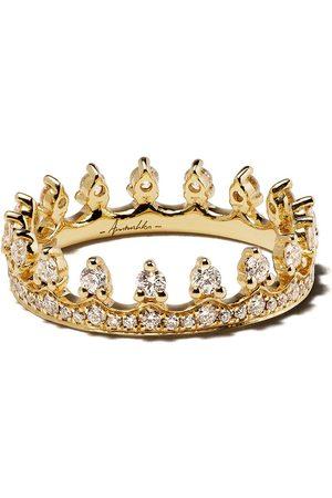 ANNOUSHKA 18kt Crown diamond ring - 18ct