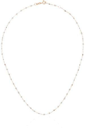 GIGI CLOZEAU Women Necklaces - 18kt rose gold bead necklace - Grey
