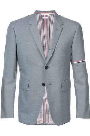 Thom Browne Rwb Selvedge Armband Sport Coat - Grey