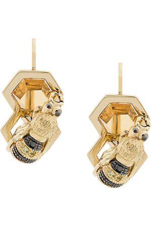 DELFINA DELETTREZ 9kt yellow To Bee or Not To Be earring - Metallic