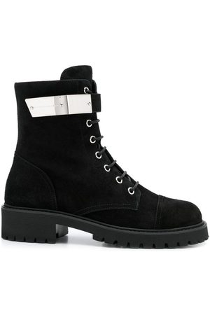 Giuseppe Zanotti Suede lace-up boots