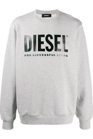 Diesel Logo printed sweatshirt - Grey
