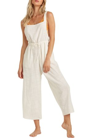 Billabong Women Dungarees - Women's One N Only Wide Leg Overalls