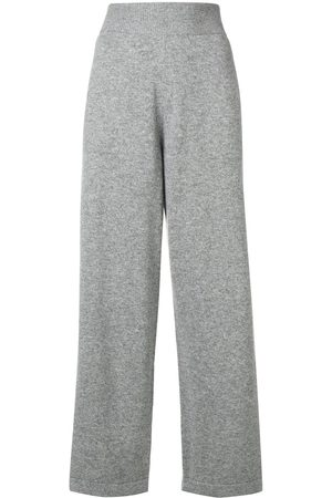 Barrie Ribbed waistband track pants - Grey