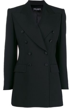 Dolce & Gabbana Women Blazers - Double-breasted tailored blazer