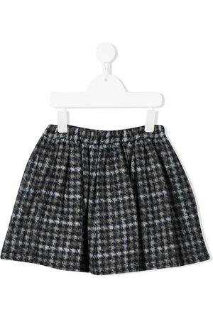 DOUUOD KIDS Houndstooth print skirt