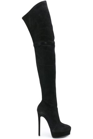 Casadei Women Thigh High Boots - Over the knee stiletto boots