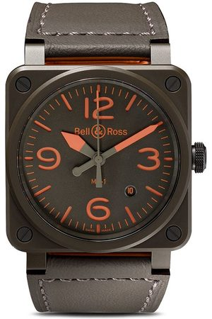 Bell & Ross Men Watches - BR 03-92 MA-1 42mm - KAKHI AND
