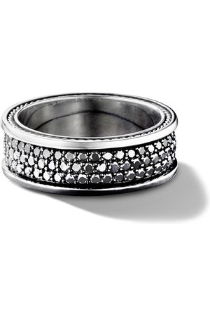 David Yurman Streamline three row pavé diamond band - SSABD