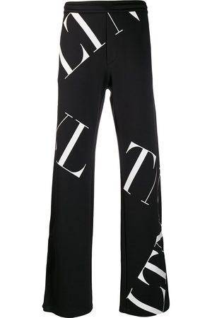 VALENTINO Men Sweatpants - VLTN MACROGRID print track pants