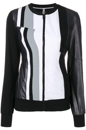 NO KA' OI Striped performance jacket