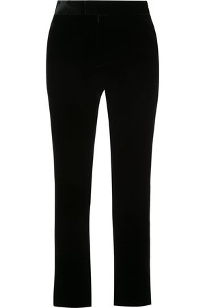 Marchesa Cropped flared trousers