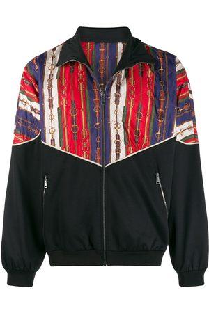 Gucci Men Outdoor Jackets - Oversize bi-material jacket
