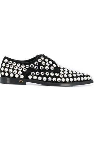 Dolce & Gabbana Rhinestone embellished Derby shoes