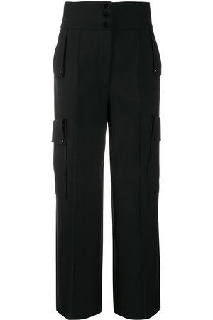 Stella McCartney Women Wide Leg Pants - High-waisted wide-leg trousers