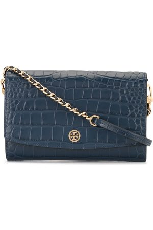 Tory Burch Robinson embossed wallet clutch bag
