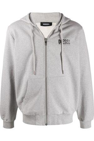 Diesel S-Girk-Hood zip-up hoodie - Grey