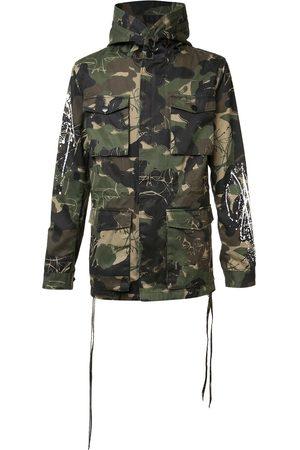 HACULLA Camouflage print coat