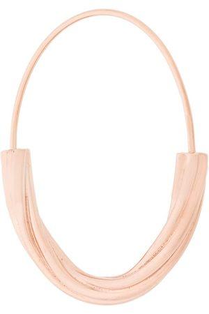 Maria Black Tove medium hoop earring - Metallic
