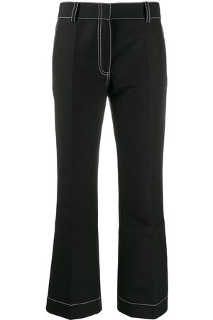 Marni Contrast topstitching trousers