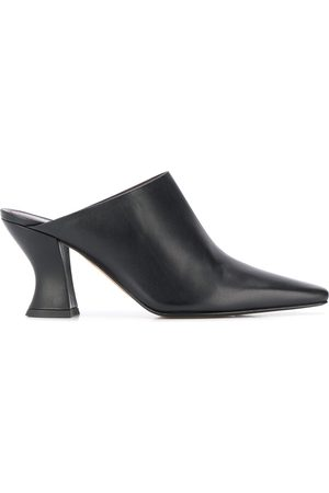 Bottega Veneta Almond 75mm mules
