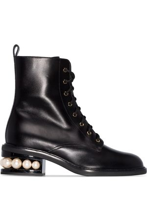 Nicholas Kirkwood CASATI 35mm combat boots
