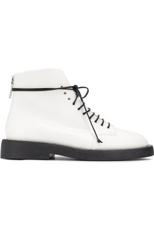 MARSÈLL Rear-zip ankle boots