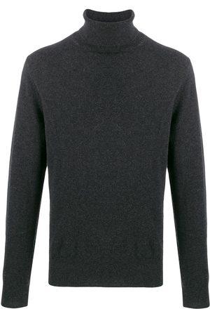 N.PEAL Roll neck knit jumper - Grey