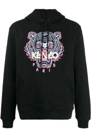 Kenzo Men Hoodies - Embroidered-motif hoodie
