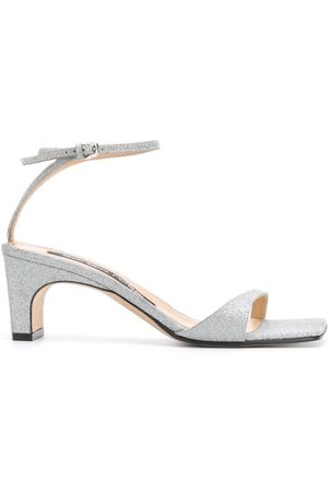Sergio Rossi Sr1 sandals - Metallic