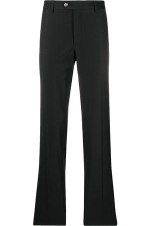 Philipp Plein Star button high waist trousers
