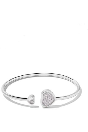 Chopard 18kt Happy Hearts diamond bangle
