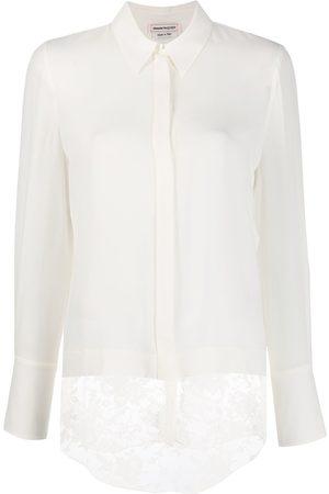 Alexander McQueen Lace detail blouse