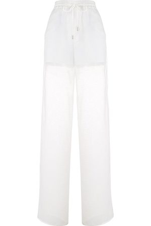 Maison Margiela Straight-leg mesh track pants