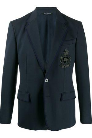 Dolce & Gabbana DG patch blazer