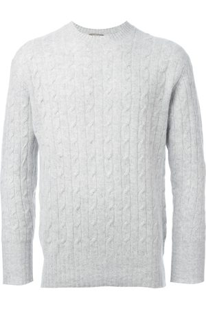 N.Peal The Thames' cable knit jumper - Grey