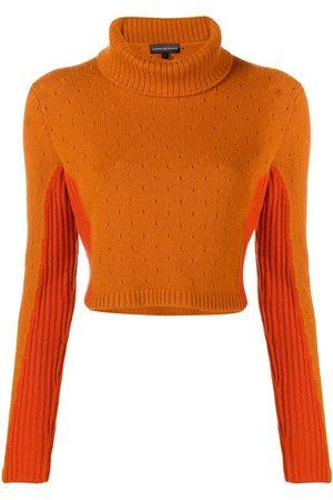 Cashmere In Love Women Sweaters - Cashmere two tone jumper