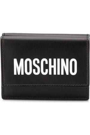 Moschino Logo print card holder