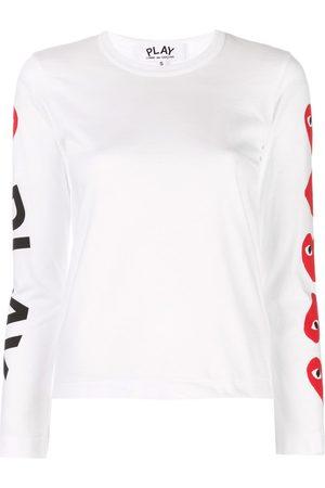 Comme des Garçons Logo print sweatshirt
