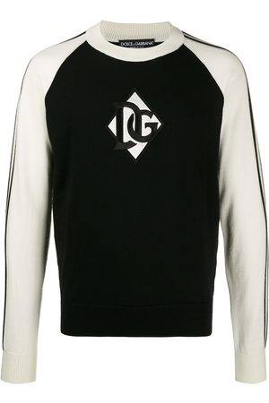Dolce & Gabbana Logo patch jumper
