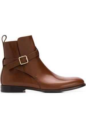 Scarosso Lara buckled ankle boots