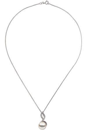 Yoko London 18kt white gold Classic South Sea pearl and diamond pendant necklace - 7