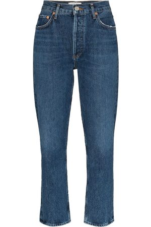AGOLDE Cropped straight leg jeans